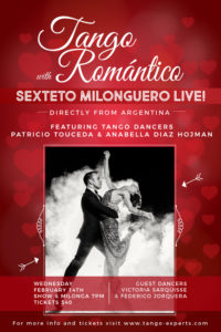 Tango Romantico - SHOW & Live Music with Sexteto Milonguero @ Sarasota | Florida | United States