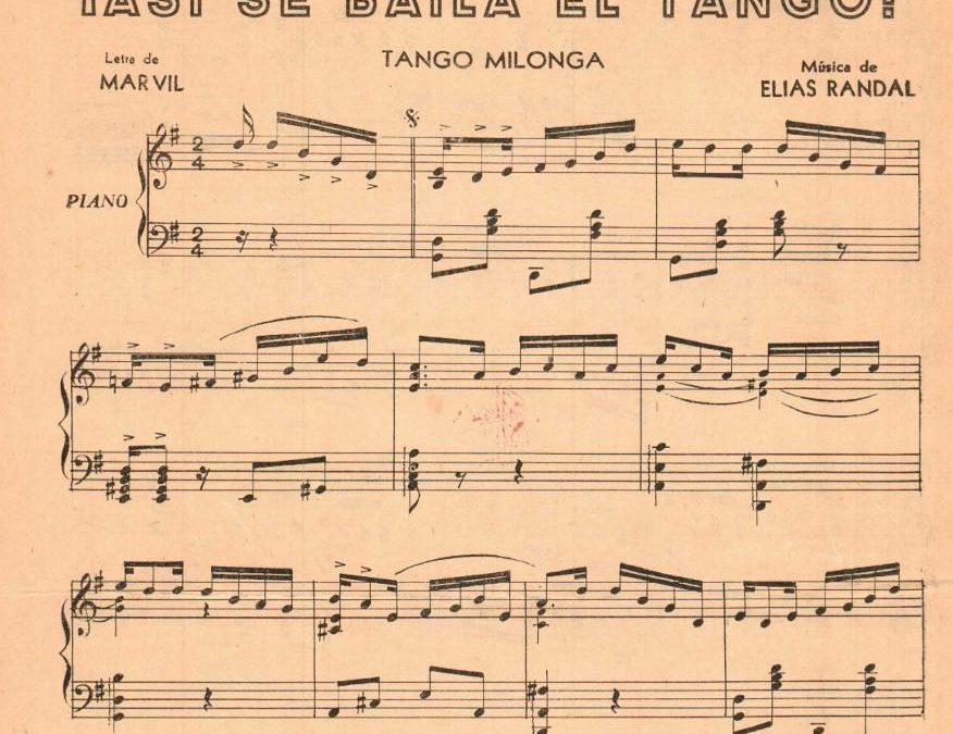 Asi Se Baila El Tango