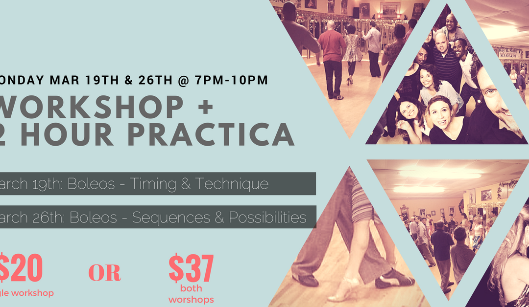 Workshop & Practica (Boleos)