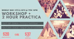 Workshop & Practica (Boleos) @ Lavelle Hall | Tampa | Florida | United States