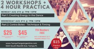 Workshop & 2-Hour Practica @ Lavelle Hall | Tampa | Florida | United States